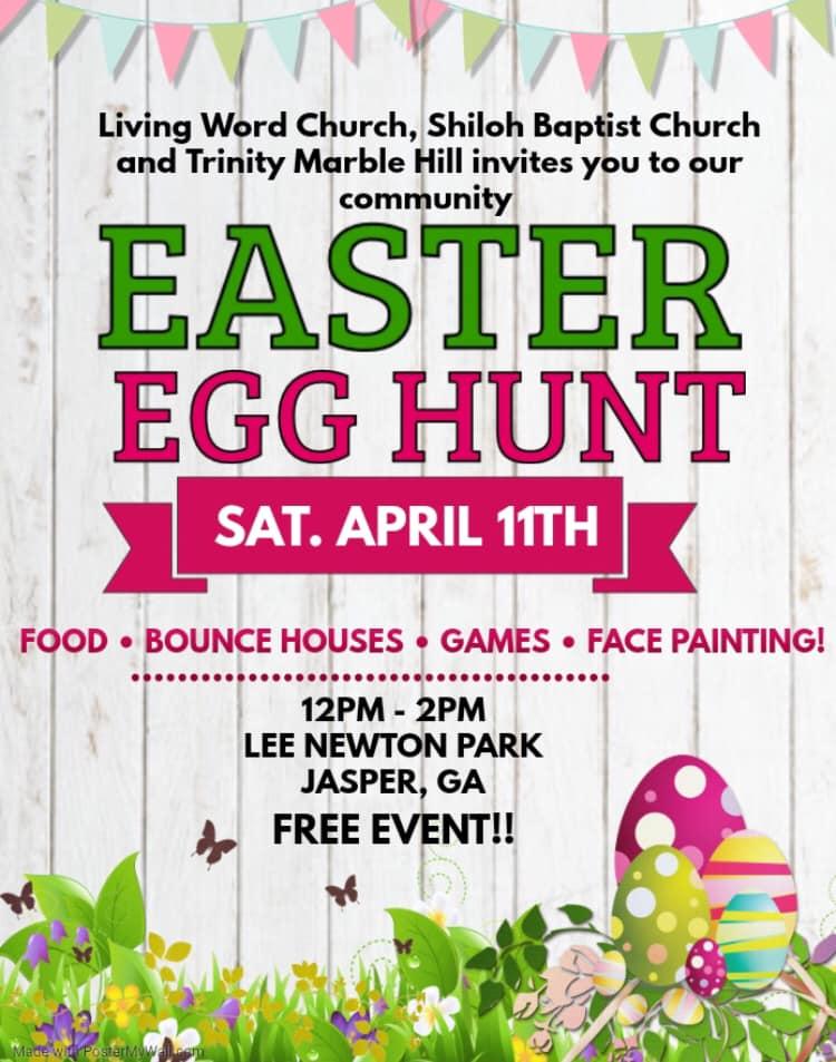 2020 Easter Egg Hunt Jasper GA